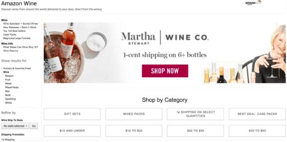 Amazon Wine เตรียมหยุดให้บริการสิ้นปีนี้