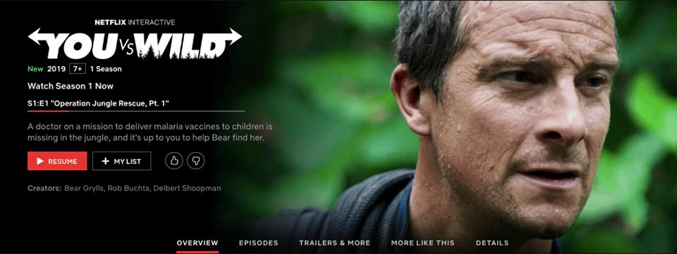 รีวิวประสบการณ์ดู Netflix แบบ Interactive ครั้งแรก
