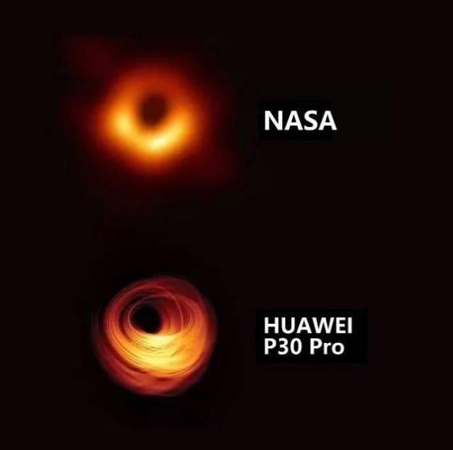 HUAWEI P30 Pro ไม่ได้แค่ซูมไกลถึงดวงจันทร์ แต่ซูมยันหลุมดำทีเดียว