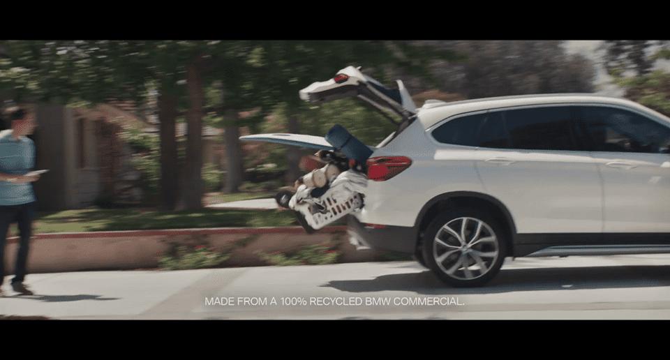 BMW เอาโฆษณาใช้แล้วมาใช้ใหม่ เพื่อขายรถมือสองที่ยังใช้ได้ดี