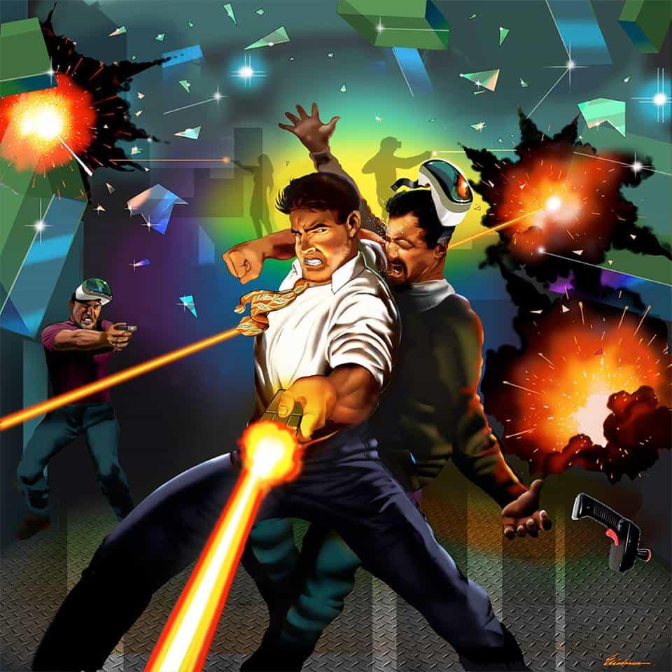 Poster เกมที่แจกเกมให้เล่นฟรี เพราะถ้าดูดีๆโปสเตอร์นี้คือ Code ของหนึ่งเกมเต็ม
