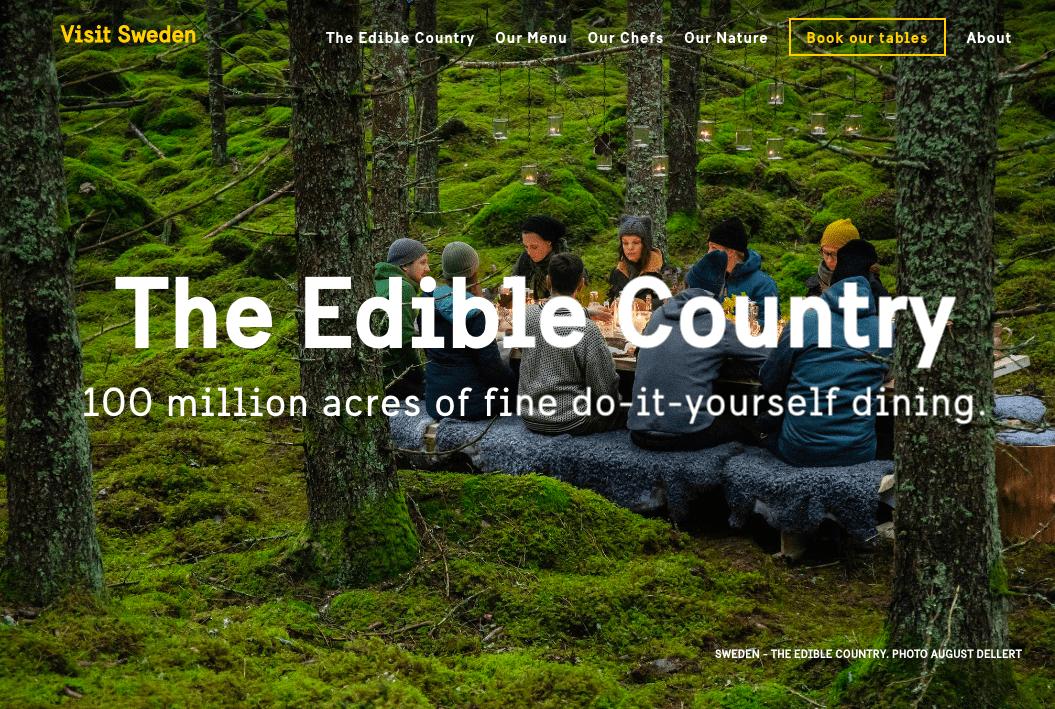 The Edible Country ร้านอาหารออร์แกนิคที่ใหญ่ที่สุดในโลก