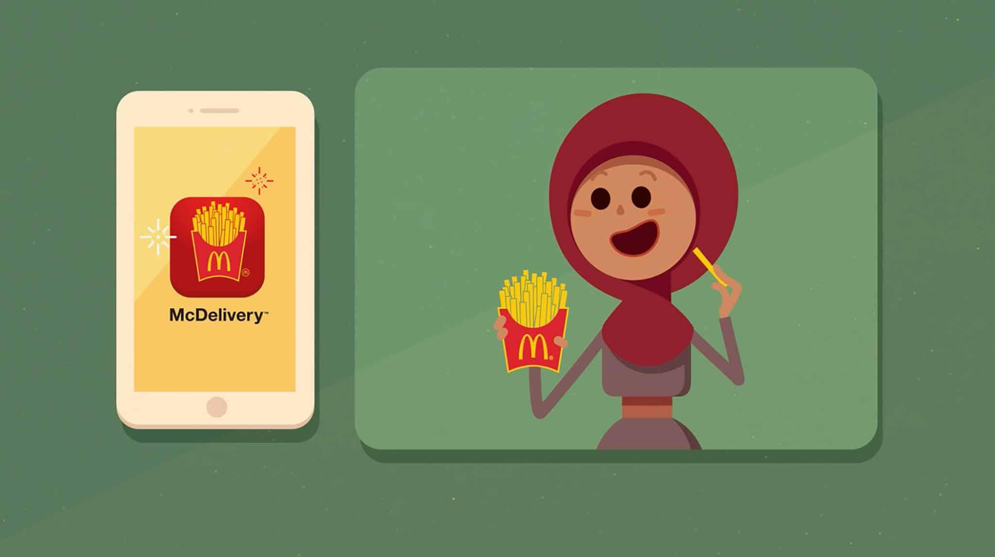 McDonald จัดเต็ม Application Marketing ยิ่งอัพ ยิ่งรับส่วนลด
