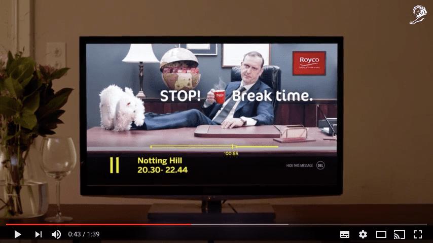 Breakvertising มิติใหม่ของการโฆษณาจาก Royco