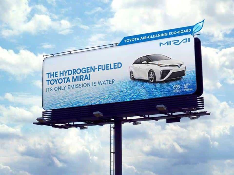 จุดแข็งของสินค้า ที่นำมาใช้ในโฆษณา ของ Toyota Mirai