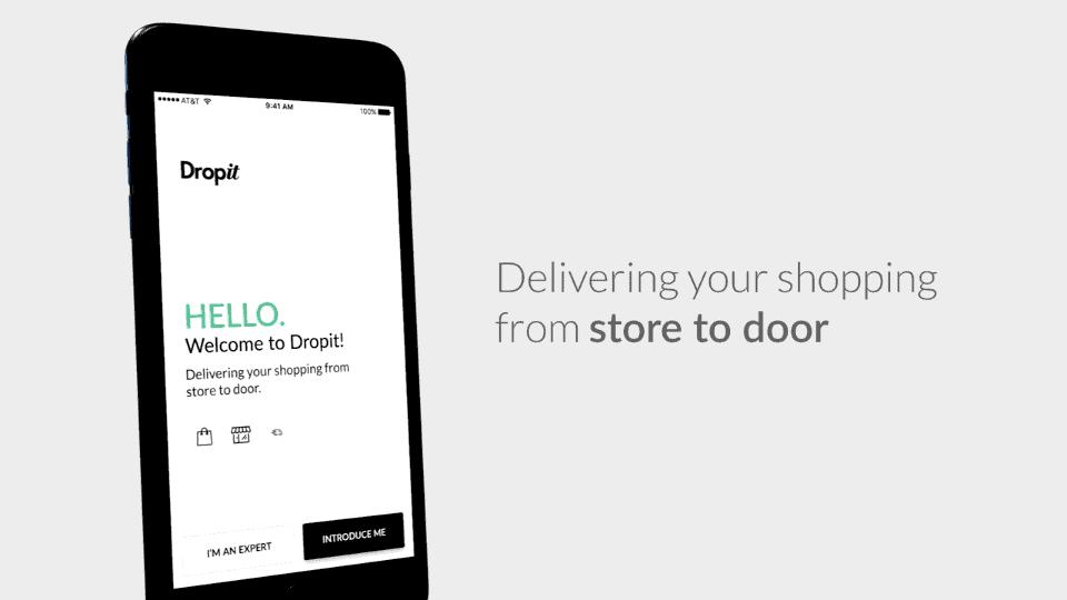 Application Dropit บริการส่งของที่คุณช้อปถึงบ้าน ไม่ต้องเหนื่อยหิ้วเอง