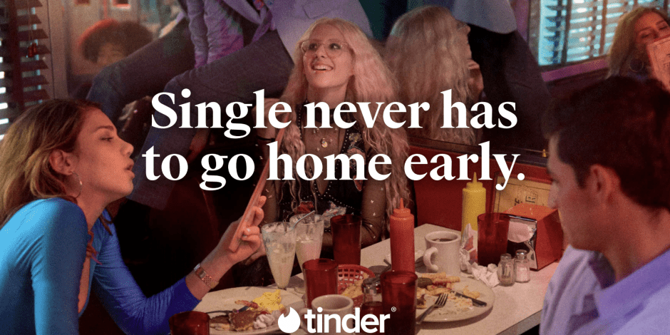 TINDER SINGLE IS A TERRIBLE THING TO WASTE
