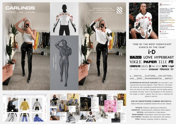 adDRESS the Future ลองเสื้อผ้าแบบ Mixed Reality เพื่อเอาใจ Gen Z จนคว้า Grand Prix Cannes