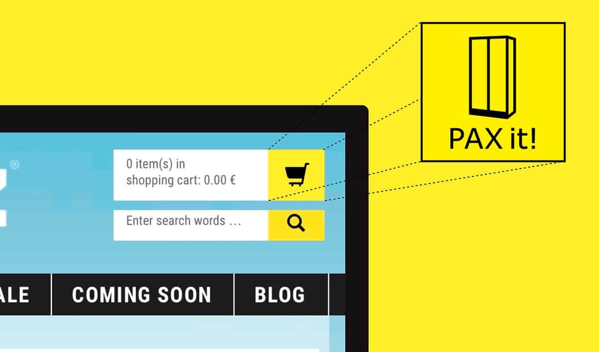 IKEA ขายตู้เสื้อผ้า PAX ด้วยการไป Collaboration กับเว็บช้อปเสื้อผ้าออนไลน์