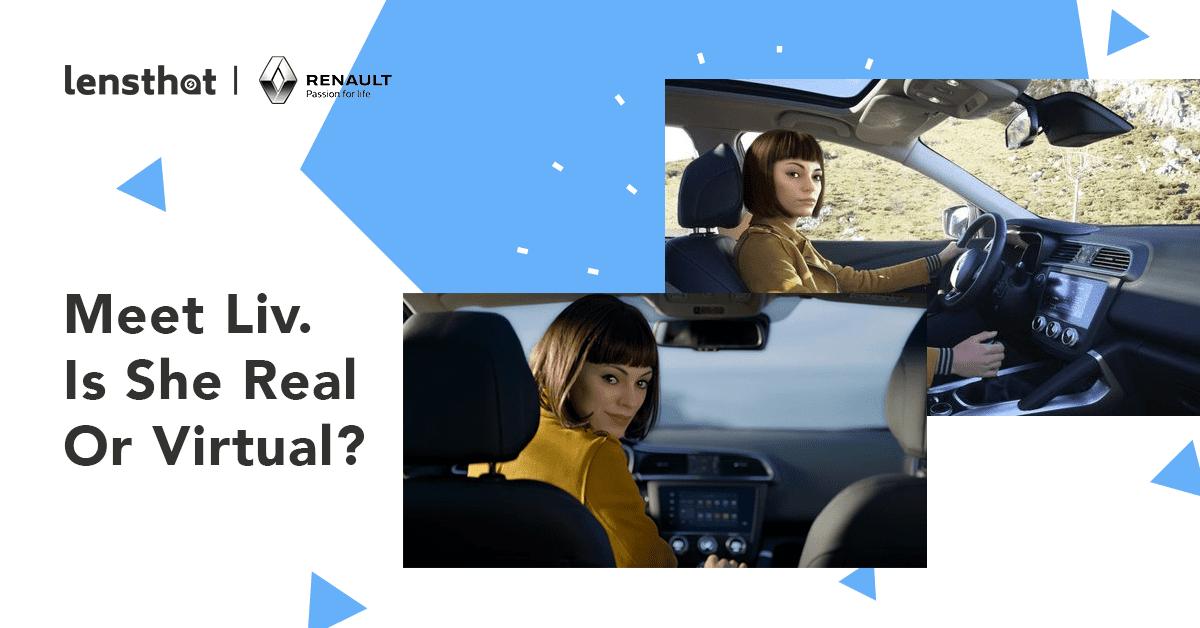 Renault กับโฆษณารถใหม่ที่เลือกใช้ Virtual Ambassador แทนคนจริง