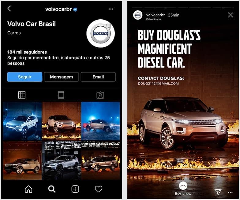 Volvo Hijack Competitor's Sale