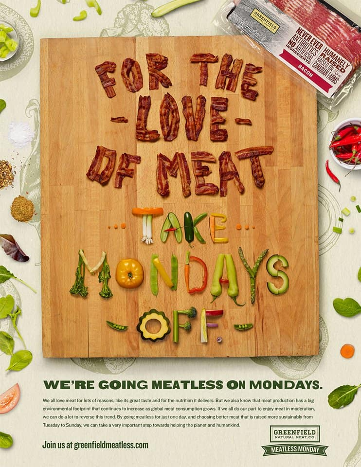 Meatless on mondays
