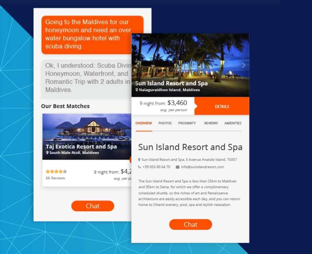 Web Banner + Chatbot = engagement สูงขึ้น 87% จาก Emirates Vacations