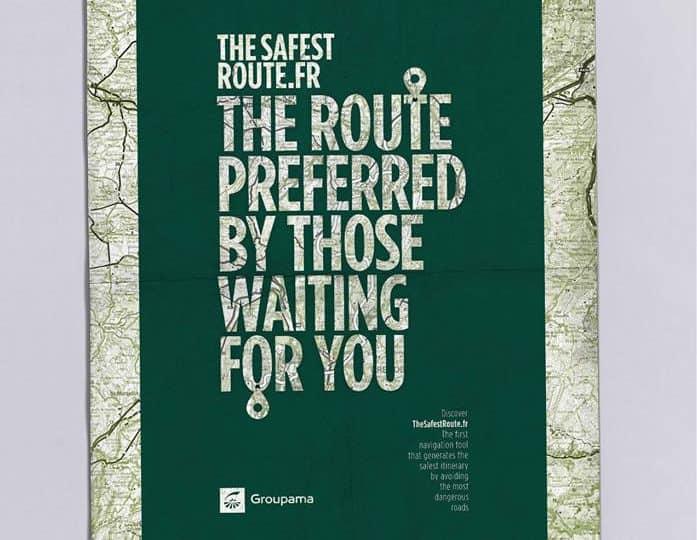 """Groupama ถ่ายทอดคุณค่า """"ความปลอดภัย"""" ในรูปแบบ Google Map"""