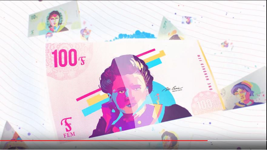 FEM เงินสกุลแรกในโลกที่ให้เฉพาะผู้หญิงเท่านั้น