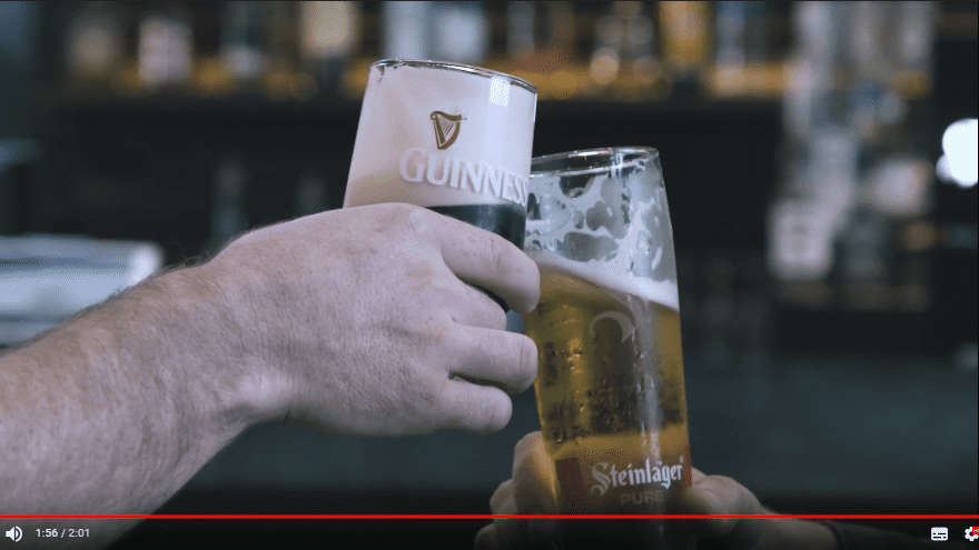 Steinlager จับมือ Guinness ปล่อย Ad ไอเดียดี ที่สนามบิน