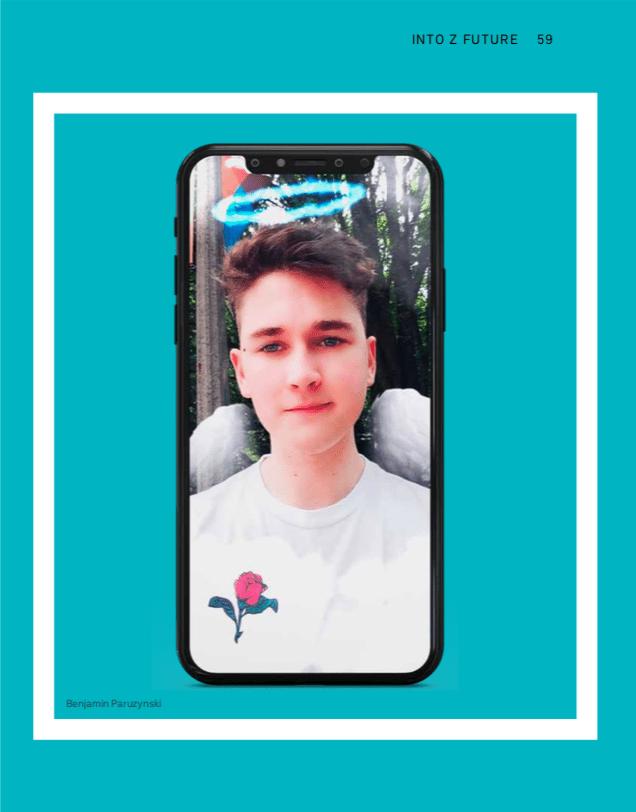Gen Z Insight Benjamin Paruzynski, founder, chAR Digital and official Snapchat Lens Studio Creator