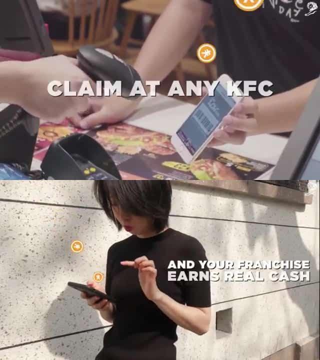 KFC Pocket Franchise Social Commerce