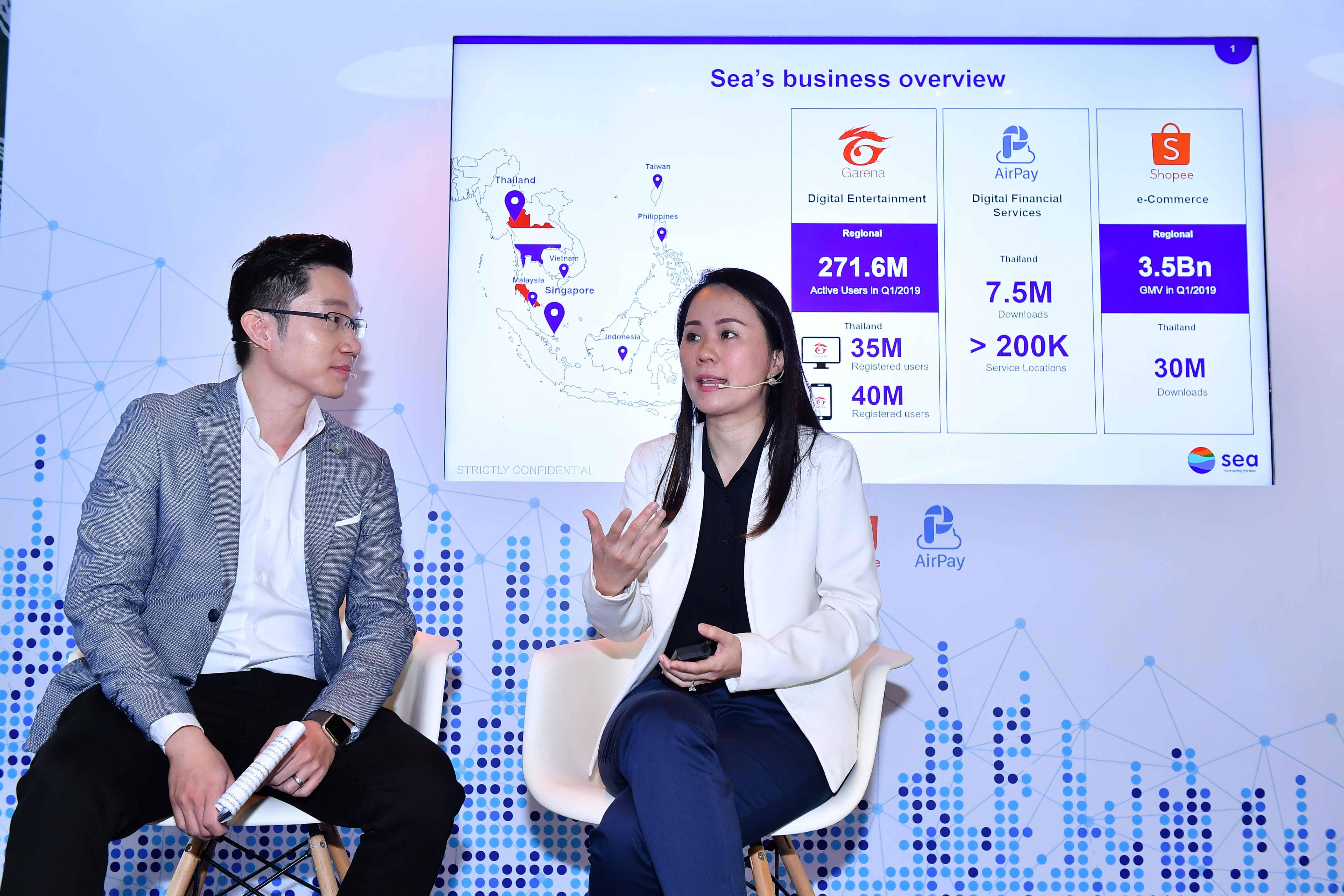 [PR] Sea (ประเทศไทย) ตอกย้ำพันธกิจ 'Connecting the dots' พร้อมยกระดับเศรษฐกิจดิจิทัล