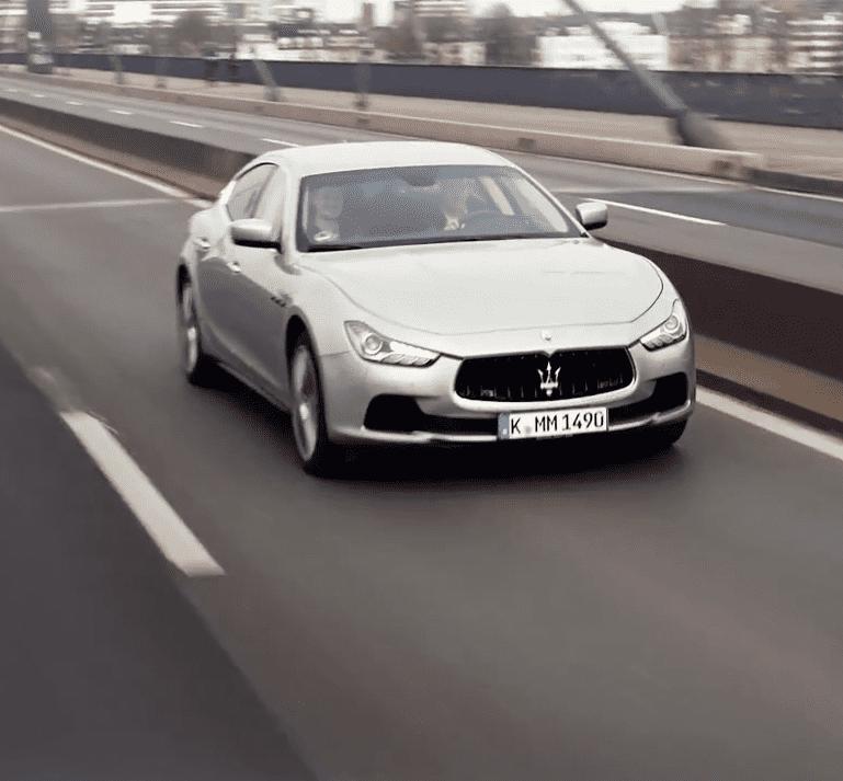 Maserati โชว์ป๋า อาสาพาคุณไปเทสไดร์ฟรถคู่แข่งฟรีๆ