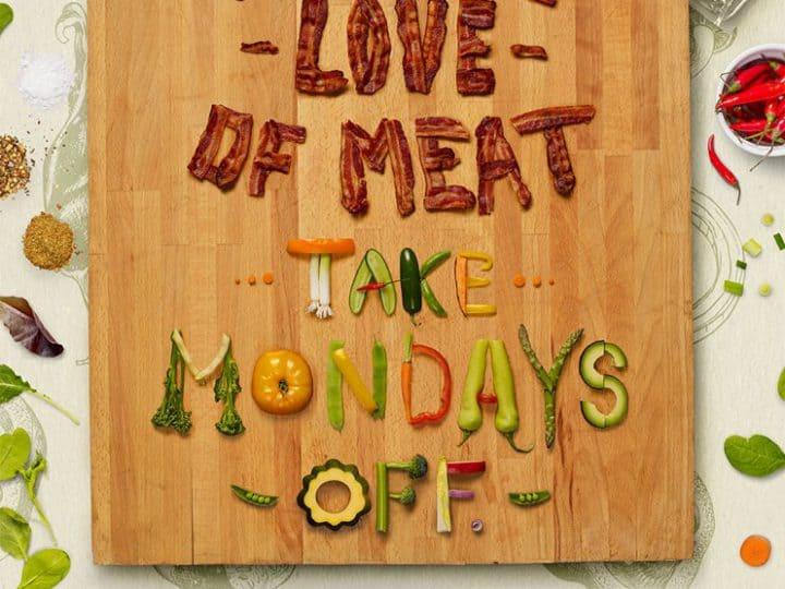 Meatless on mondays เมื่อร้านขายเนื้อชวนคุณหยุดทานเนื้อในทุกวันจันทร์