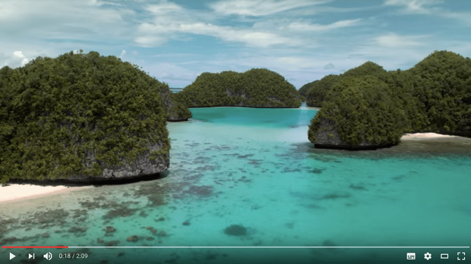 """สาบานสิ ว่าจะไม่ทำร้ายแหล่งท่องเที่ยวของคุณหรือบ้านของเรา """"Palau"""""""