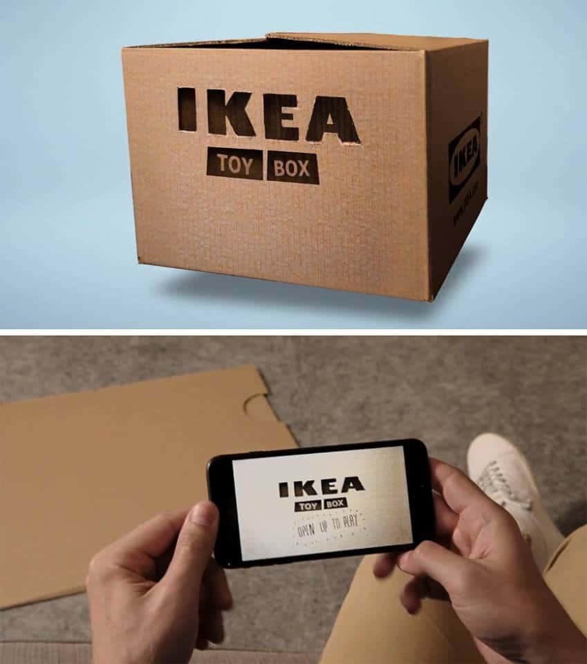 IKEA ชวนเอากล่องใบเก่าใส่ไอเดียให้กลายเป็นของเล่นใหม่