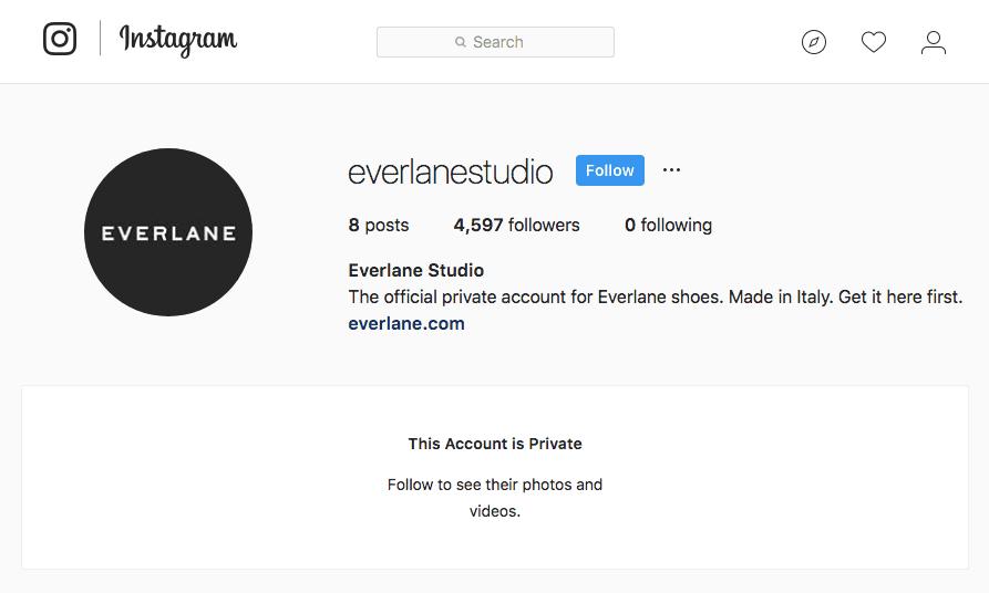 Everlane ใช้ Instagram สร้างความพิเศษให้ลูกค้ารู้สึกพิเศษจริงๆ