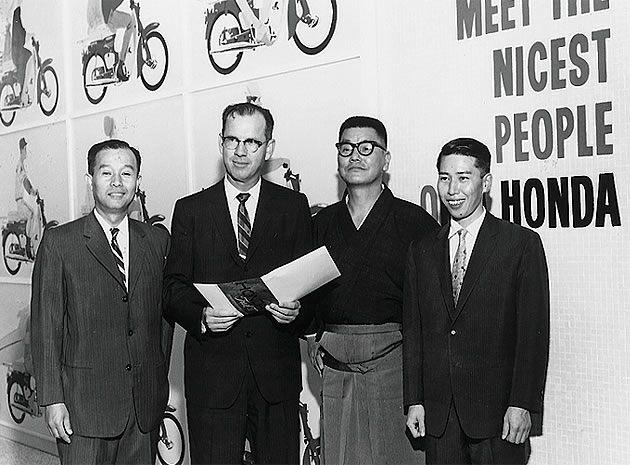 Kihachiro Kawashima Honda Supercub north america
