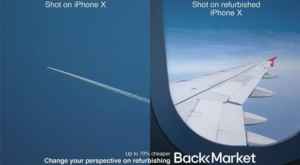 Change Perception Strategy Change your perspective on refurbishing Back Market Shot on iPhone X