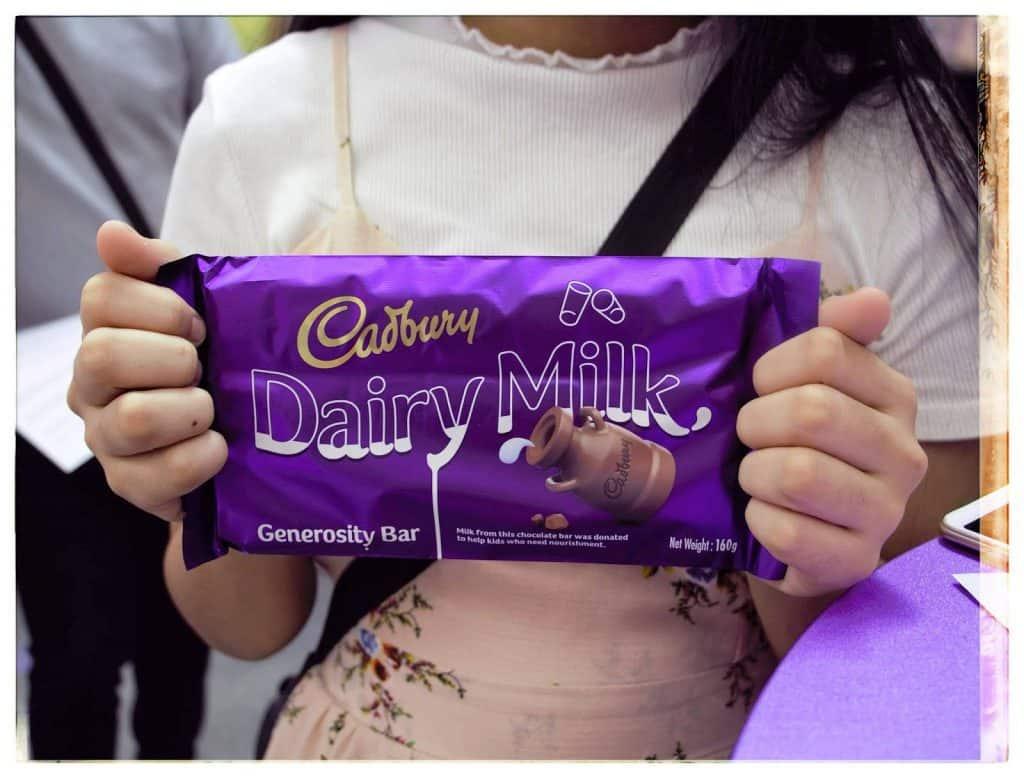 Cadbury Generosity Bar CSR