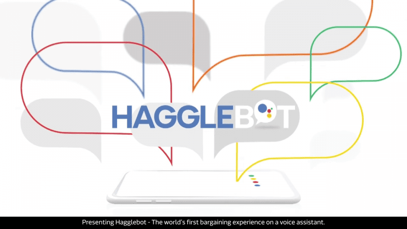 Hagglebot เว็บช้อปปิ้งออนไลน์ที่ให้คุณต่อราคากับ AI