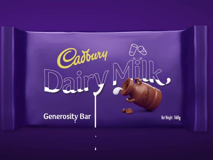 Cadbury Generosity Bar CSR