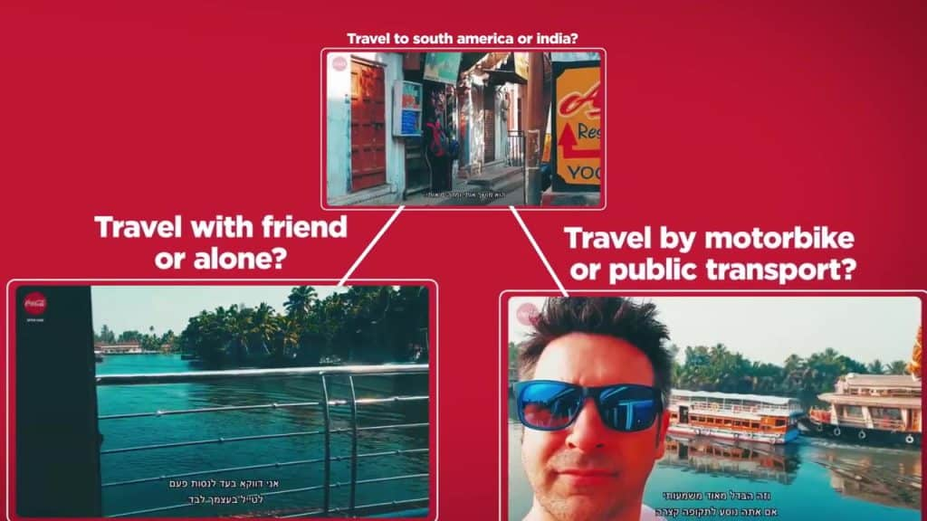 The Search of a Lifetime Coke Personalization Content