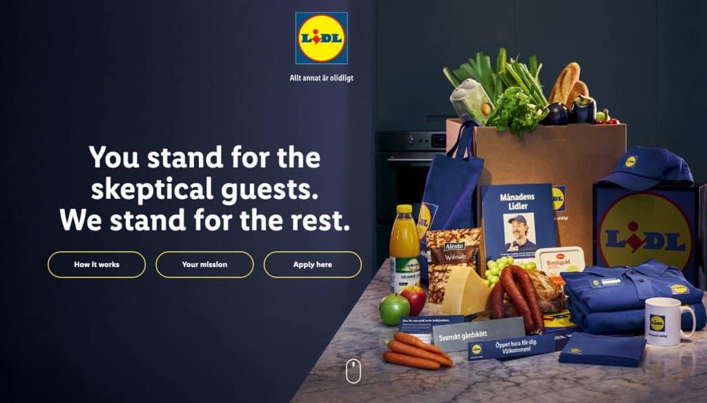 Lidl Micromarket Super Fans Strategy