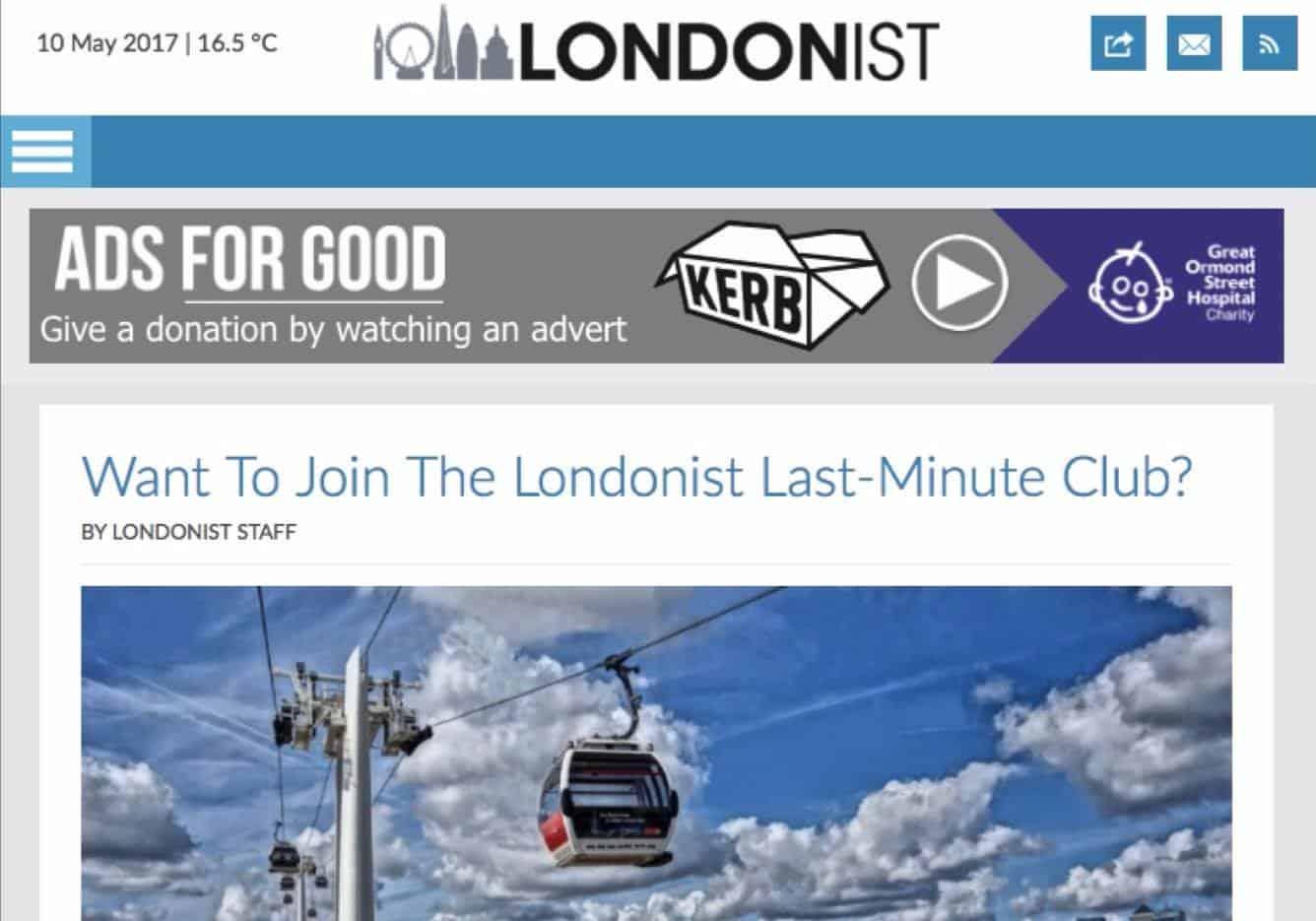 Donate 4.0 ไม่ต้องบริจาคเงิน แต่บริจาคด้วยการดูโฆษณาแทนได้