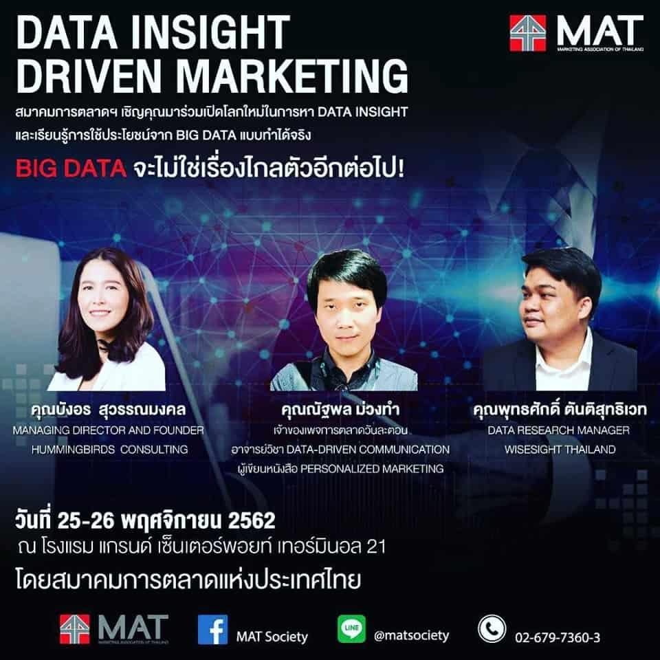 Data Insight Driven Marketing