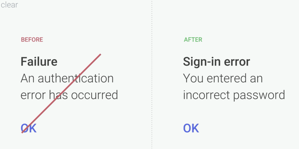 UX Writing Best Practices