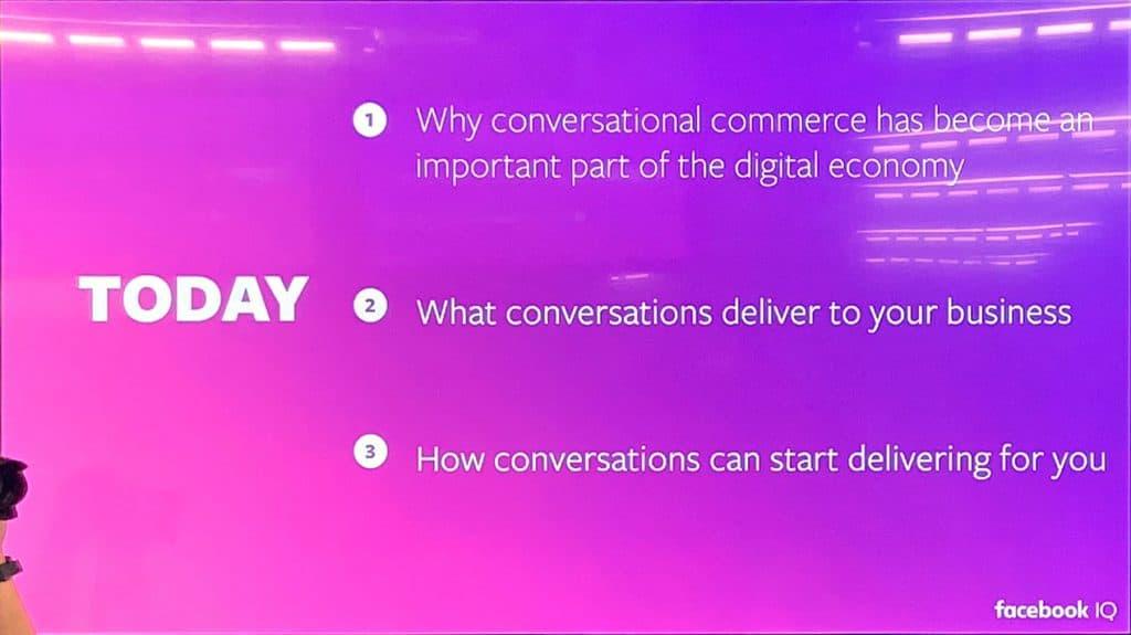 Conversation Commerce Chat before shop Conversation-Driven Commerce