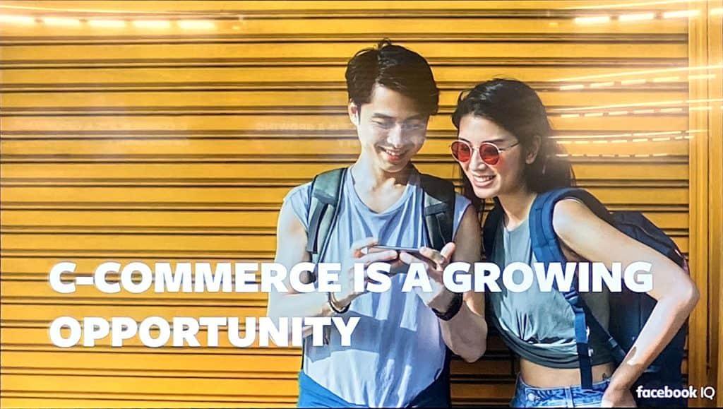 Conversation Commerce Chat before shop Conversation-Driven Commerce Facebook IQ
