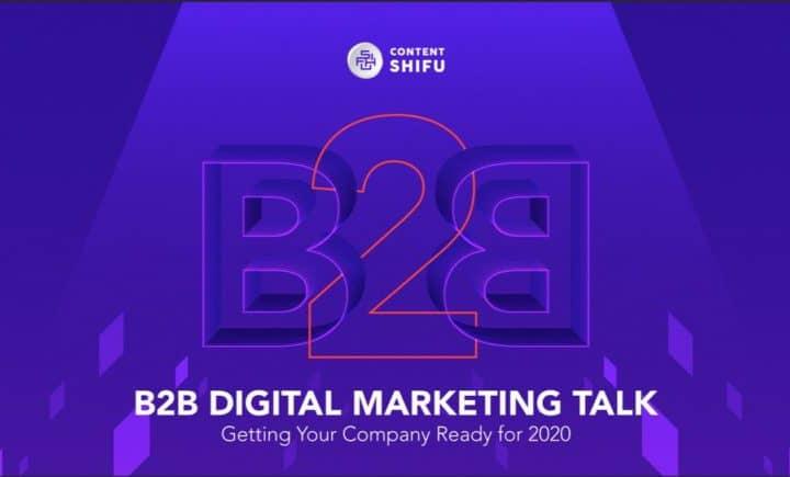 "B2B ไม่ใช่เรื่องยาก แค่เข้าใจก็ไปได้ไกล: สรุปประเด็นสำคัญจากงาน ""B2B Digital Marketing Talk by Content Shifu"""