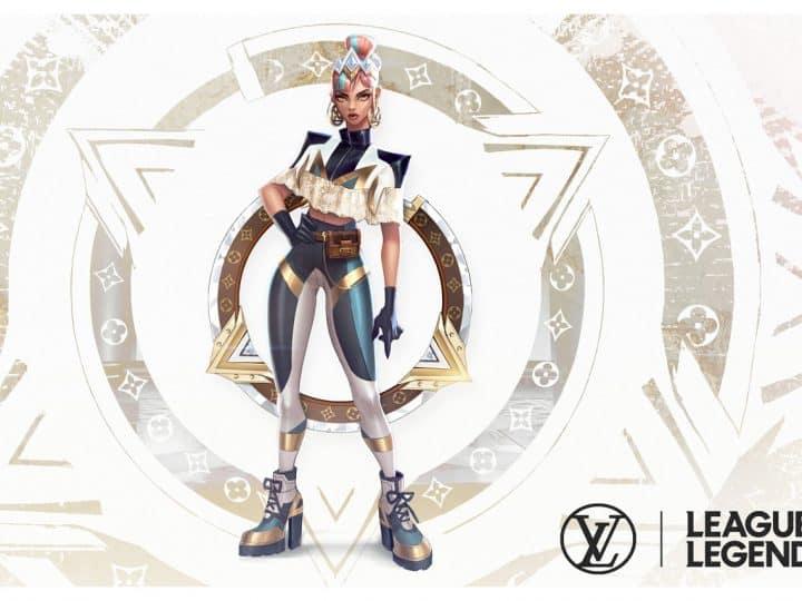 Louis Vuitton x League of Legends Luxury Brand E-Sports
