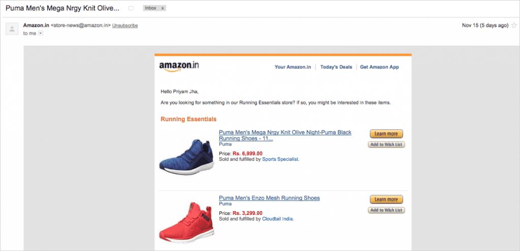 Case Study Amazon Hyper-Personalization