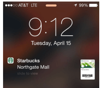 Case Study Hyper-Personalization Starbucks Notification