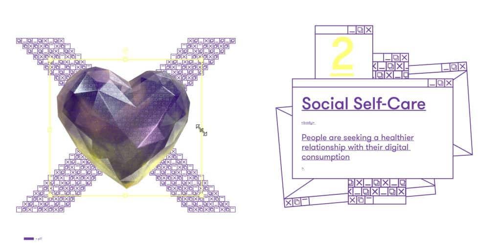 Social Self-Care Social Media Trend 2020 Think Forward 2020 We Are Social