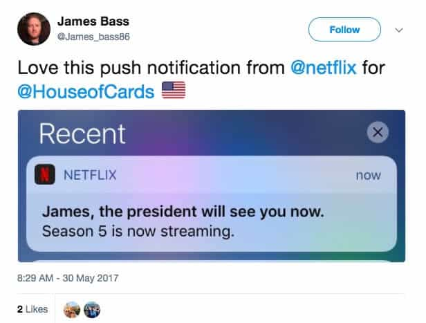 Case Study Hyper-Personalization Netflix Notification