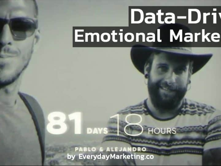 Data-Driven Emotional Marketing Ruavieja Tenemos Que Vernos Mas We have to see more of each other