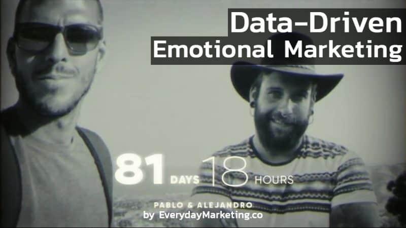 Data-Driven Emotional Marketing คุณเหลือเวลากับคนที่รักน้อยกว่าที่คิด