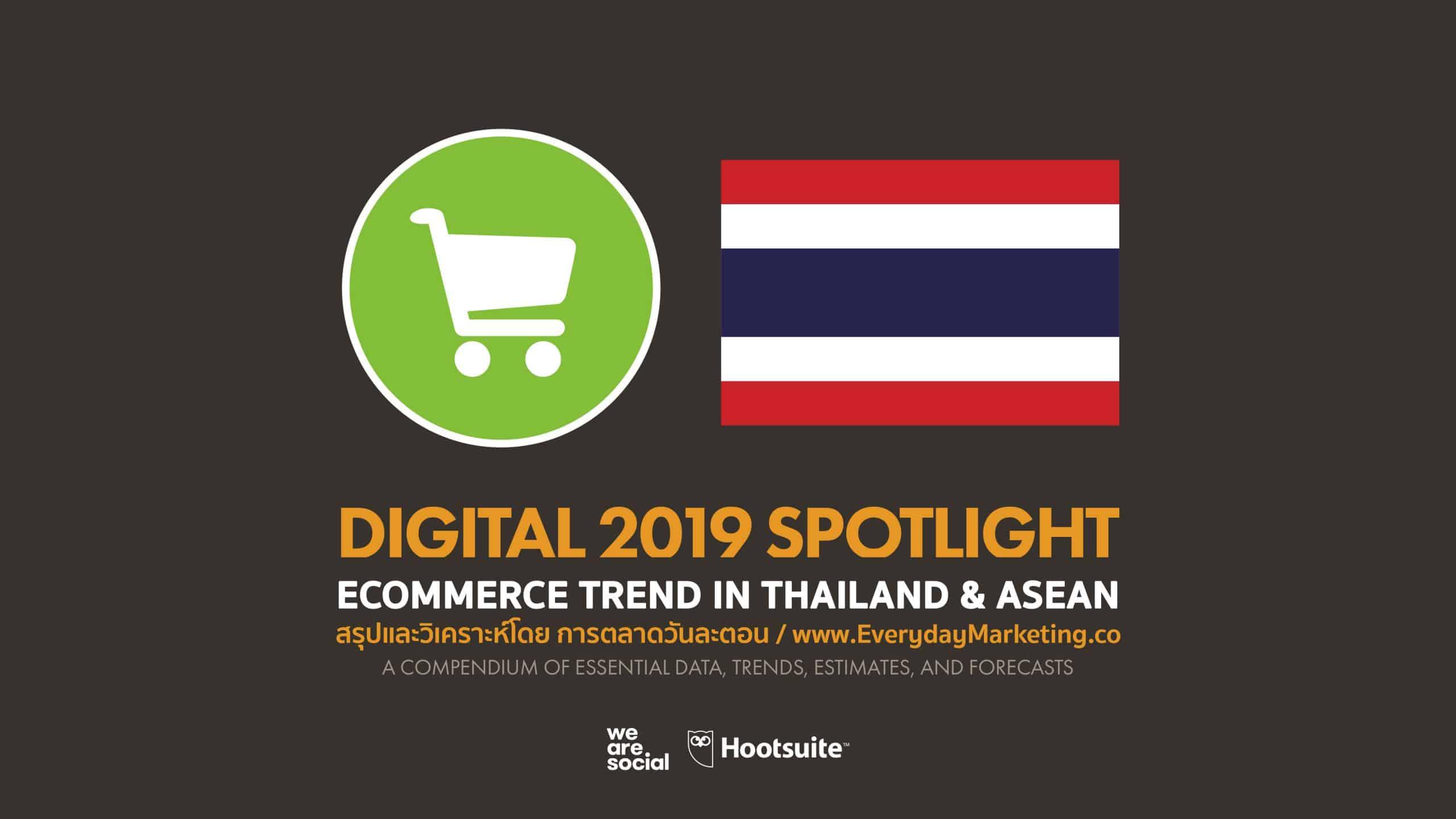 วิเคราะห์สถานการณ์ E-Commerce ไทย 2020 เมื่อเทียบกับเพื่อนบ้าน ASEAN และทั่วโลก
