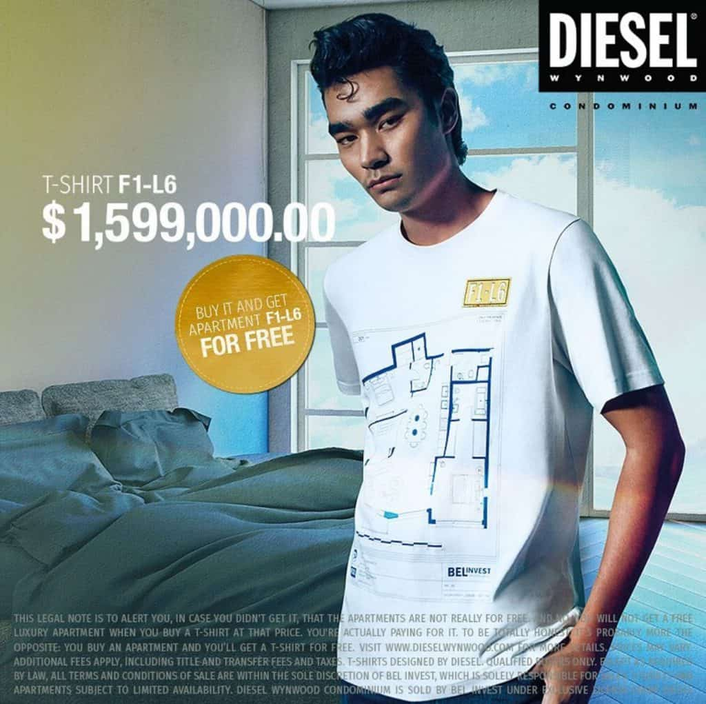 The Condo T-Shirts Diesel Best PR and Promotion Campaign of the World